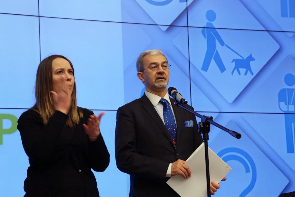 Eksperci od dostępności doradzą ministrowi Kwiecińskiemu