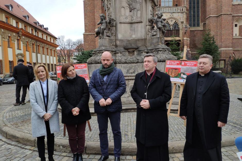 We Wrocławiu miasto oraz archidiecezja organizuję Wigilię do ubogich