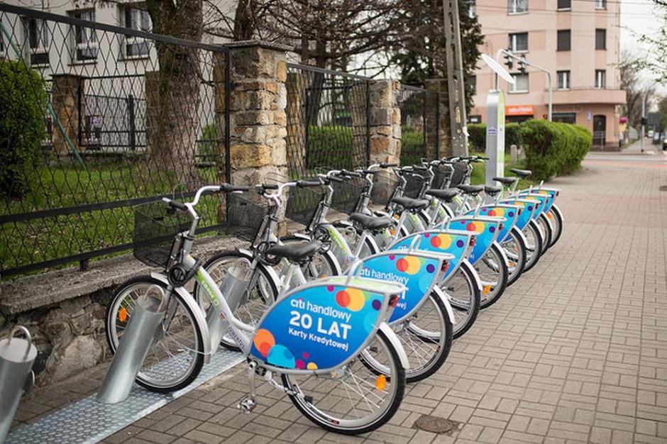 Katowice: rower miejski zaliczył rekordowy sezon