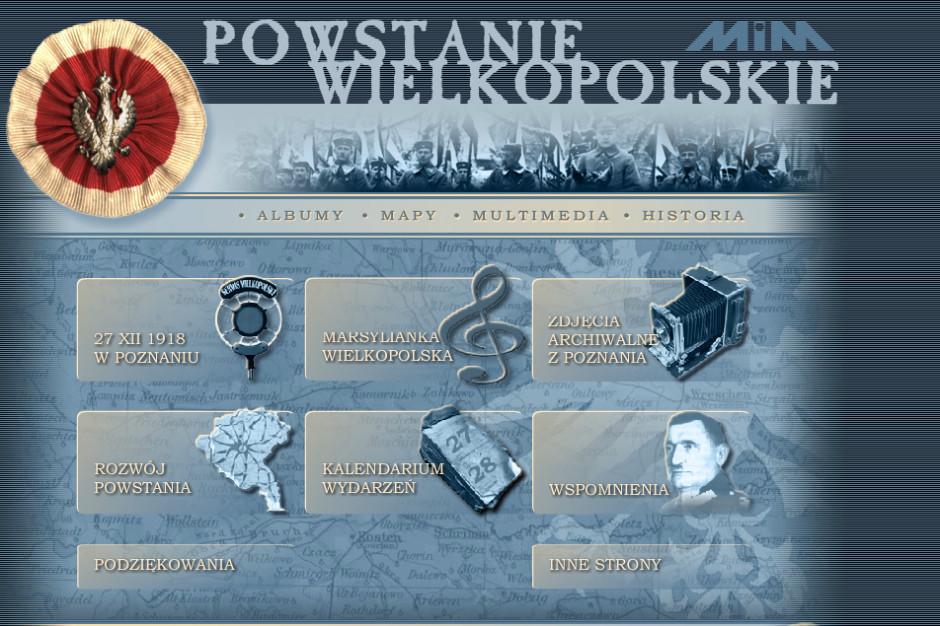 Ruszył portal poświęcony powstaniu wielkopolskiemu
