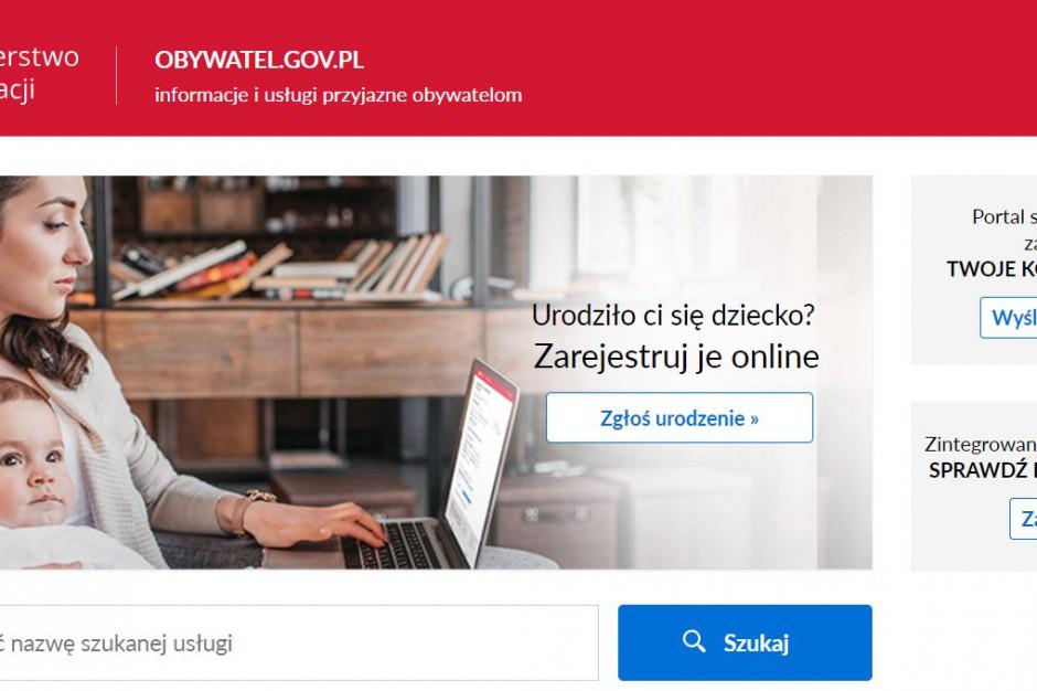 Wspólne strony rządu i resortów pod www.gov.pl