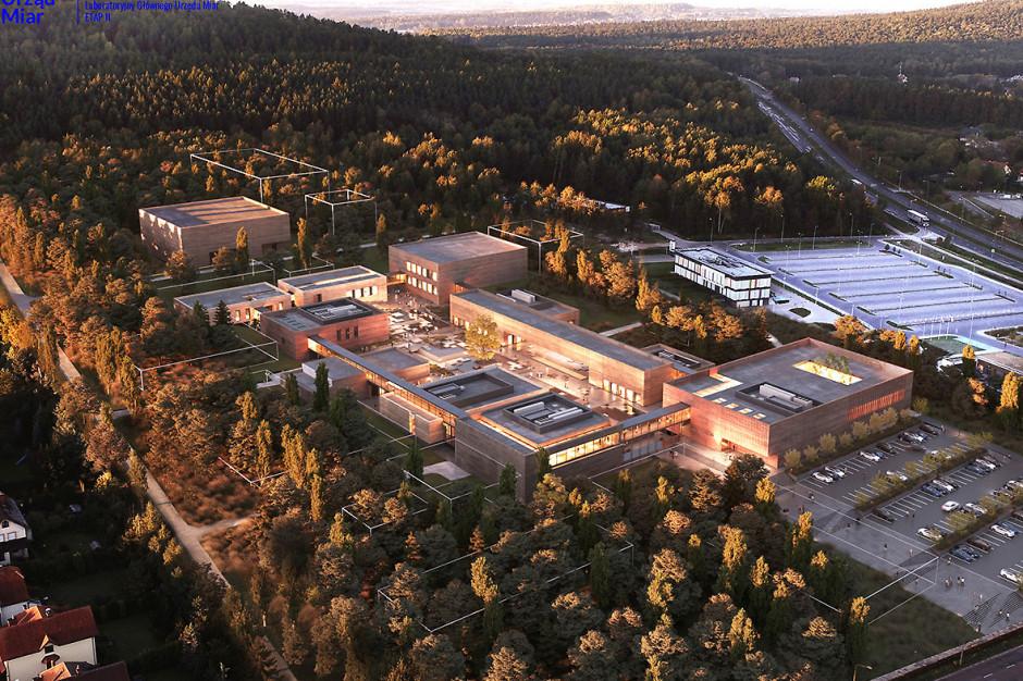 Tak będzie wyglądać kampus laboratoryjny Głównego Urzędu Miar w Kielcach