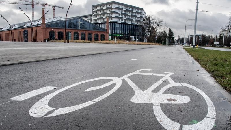Cyklostrada wzdłuż ulicy Grabiszyńskiej została otwarta pod koniec 2018 r. (fot. UMW)