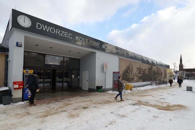 Dworzec PKP Gdańsk Wrzeszcz (fot. Grzegorz Mehring/www.gdansk.pl)