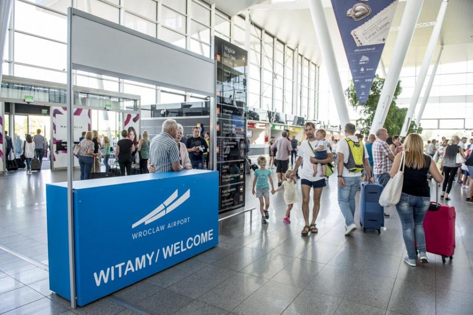 Wrocławskie lotnisko chwali się najlepszymi wynikami w historii