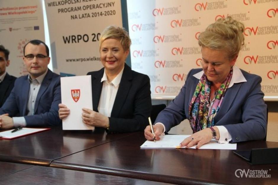 Ostrów Wielkopolski podpisał umowę na 9 mln wsparcia unijnego