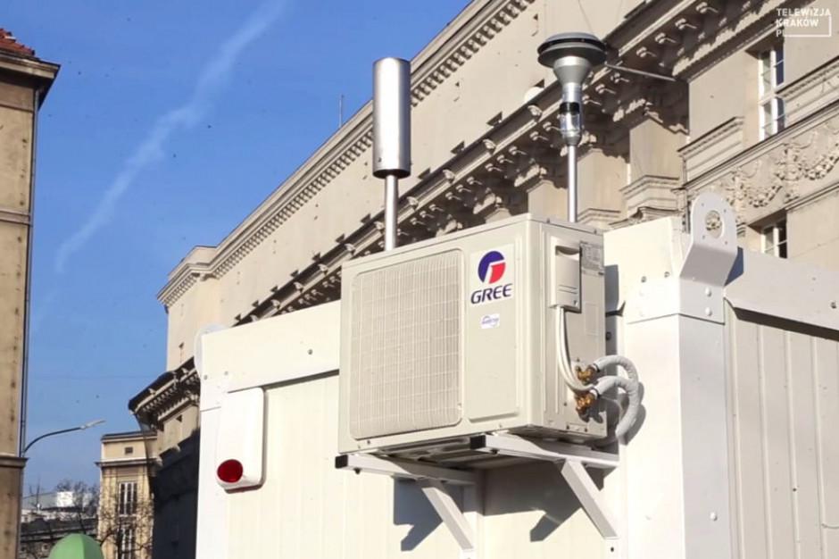 W Krakowie działa ósma stacja monitoringu powietrza