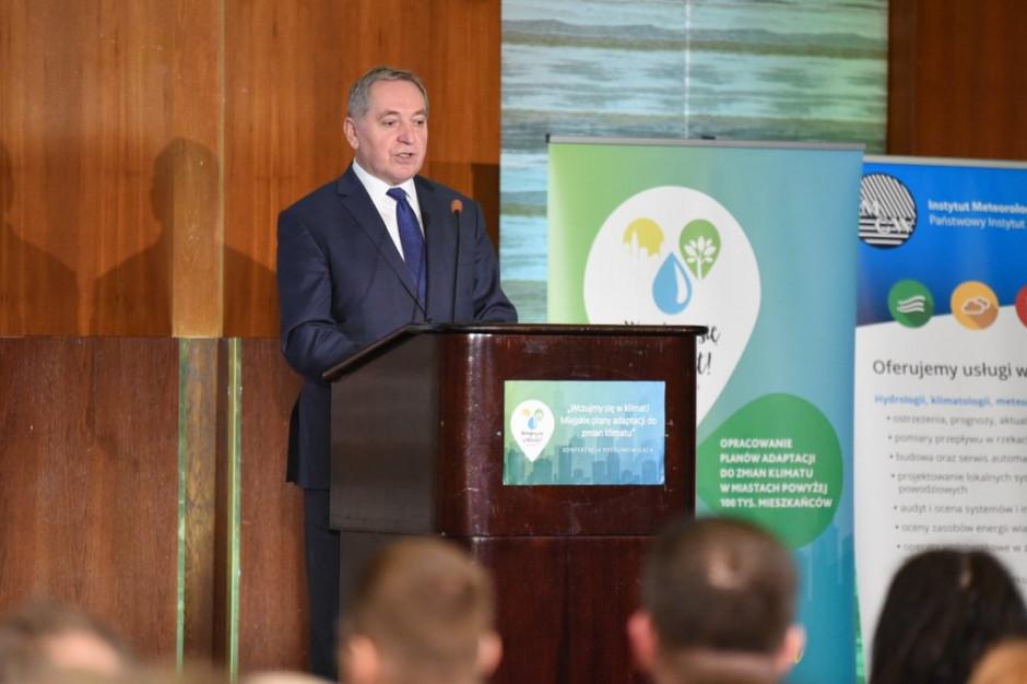 Miejskie plany adaptacji do zmian klimatu. 44 miasta podjęły wyzwanie Ministerstwa Środowiska