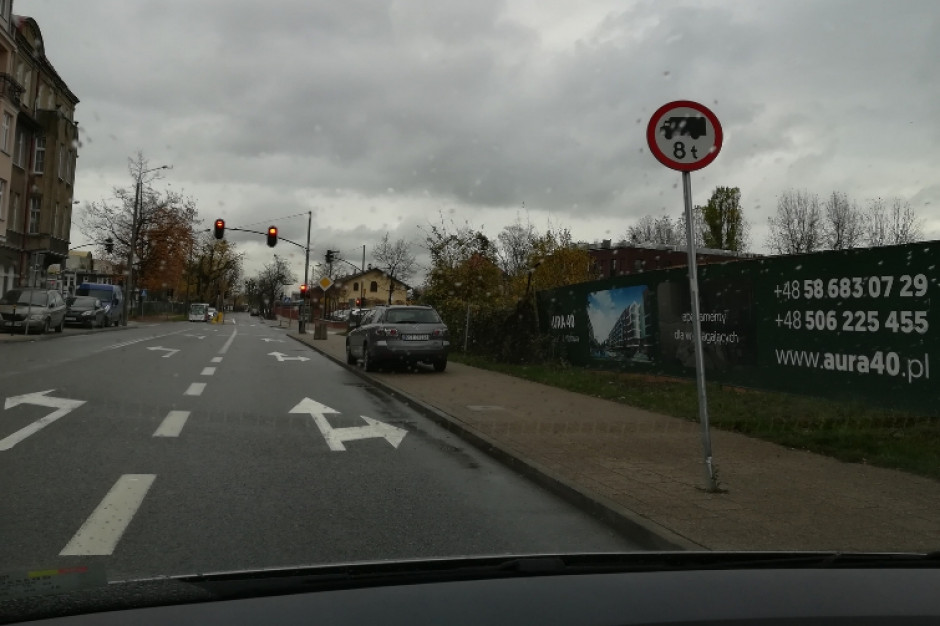 Ciężarówki nie wjadą do jednej z dzielnic Gdańska. Zakaz już 9 stycznia