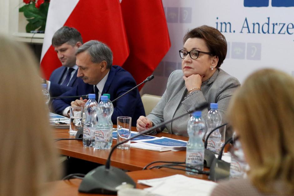 Anna Zalewska: Mamy rozwiązania dla nauczycieli. Mam nadzieję, że nie dojdzie do strajku
