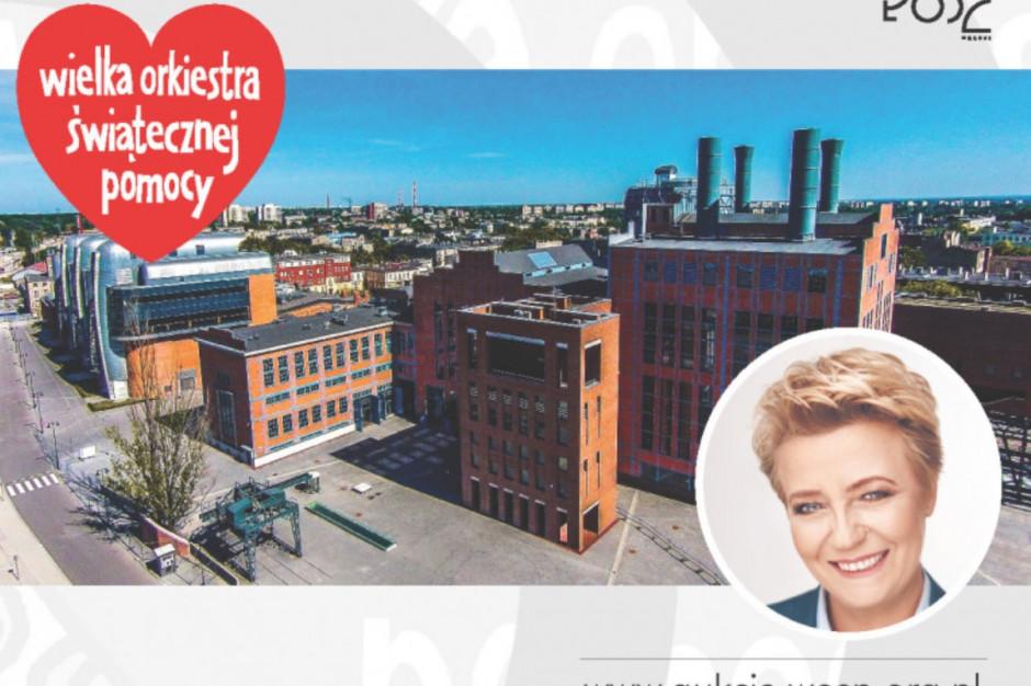 Prezydent Łodzi wystawiła swoje towarzystwo na aukcji WOŚP