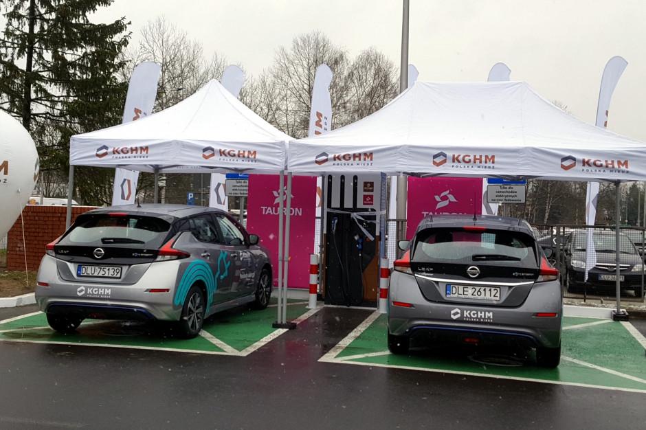Lubin: Uruchomiono punkt ładowania samochodów elektrycznych