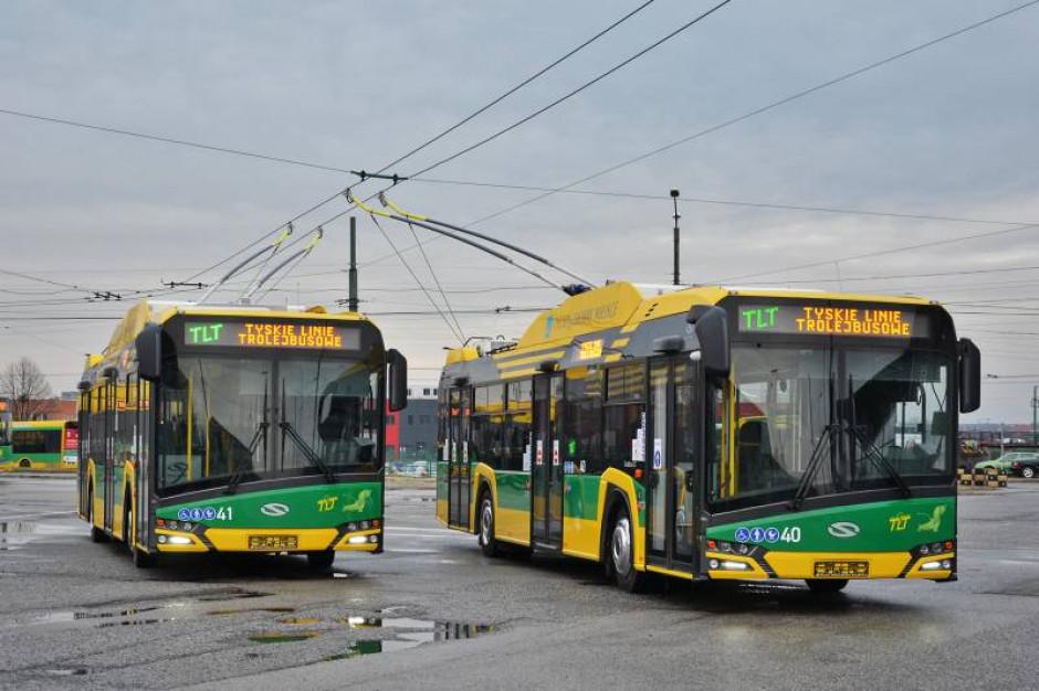 Nowe trolejbusy przyjechały do Tychów