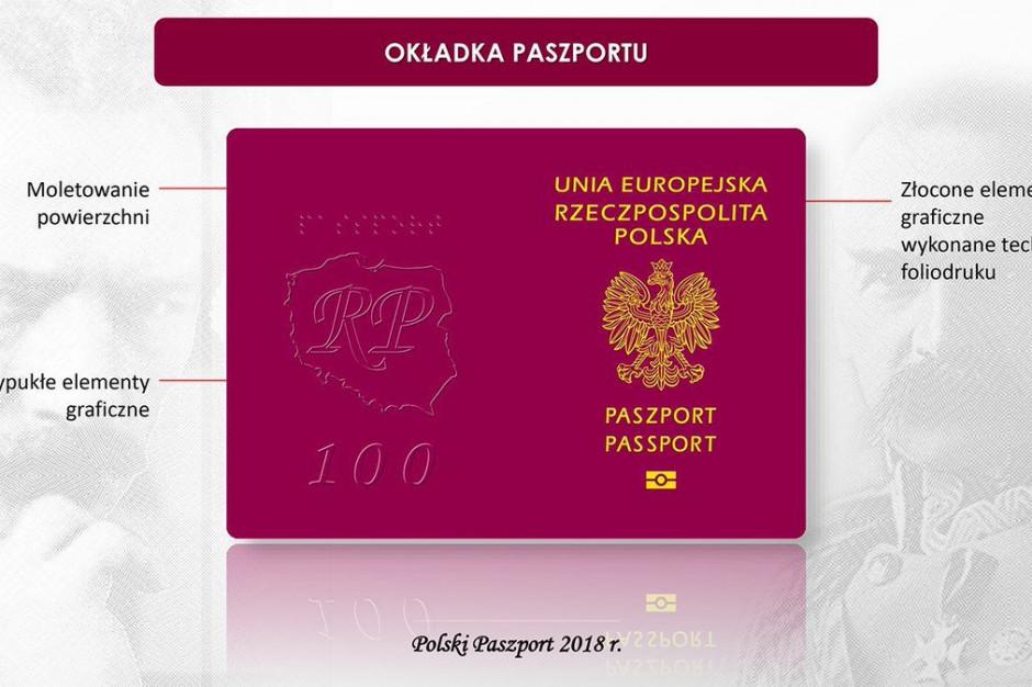 Już ponad 165 tys. paszportów nowego wzoru z okazji 100-lecia Niepodległości