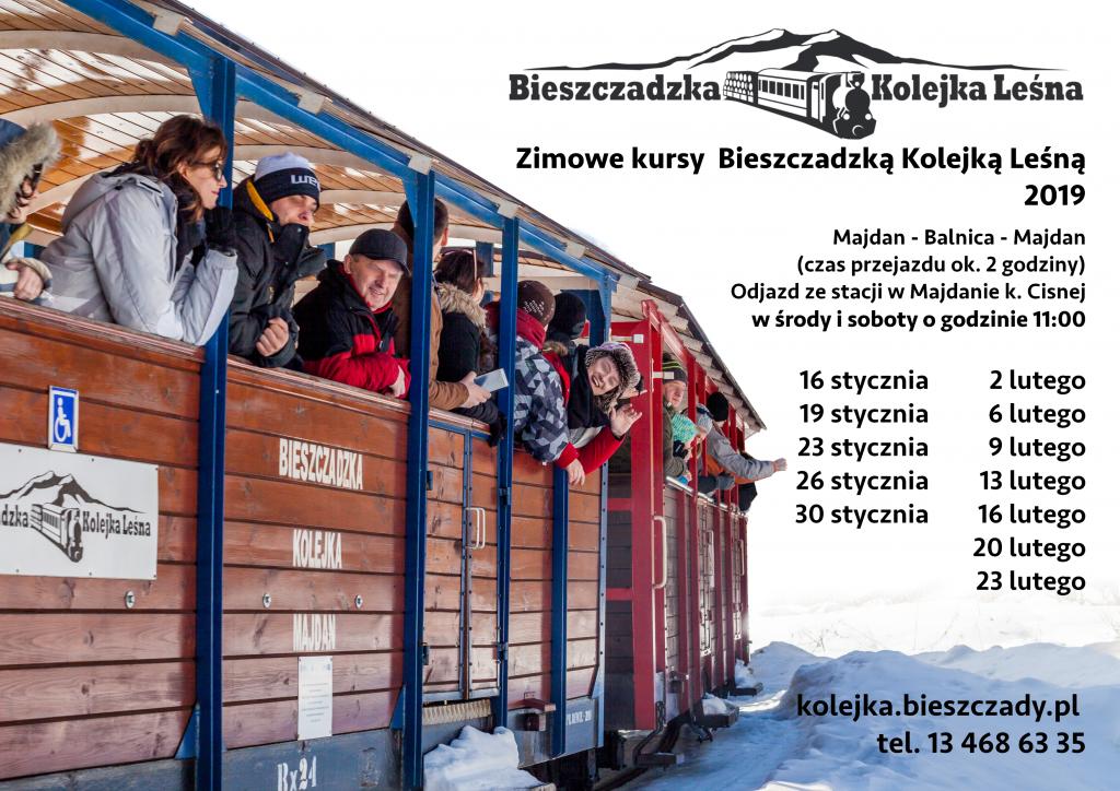 Bieszczadzka Kolejka Leśna będzie kursować w każdą środę i sobotę (fot. kolejka.bieszczady.pl)