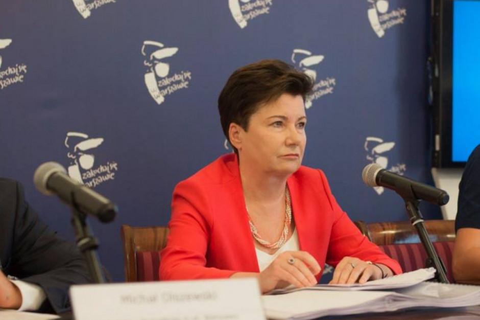 Warszawa: Hanna Gronkiewicz-Waltz napisze do szefa MSWiA z prośbą o ochronę?