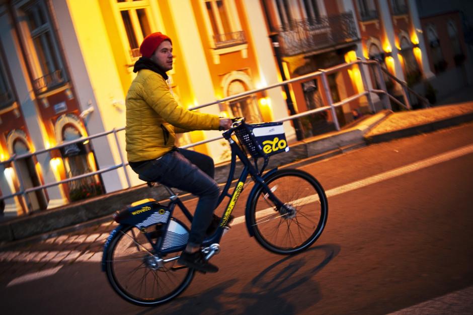 Rower miejski jest trendy. Krakowianie przejechali ponad 3,5 mln km