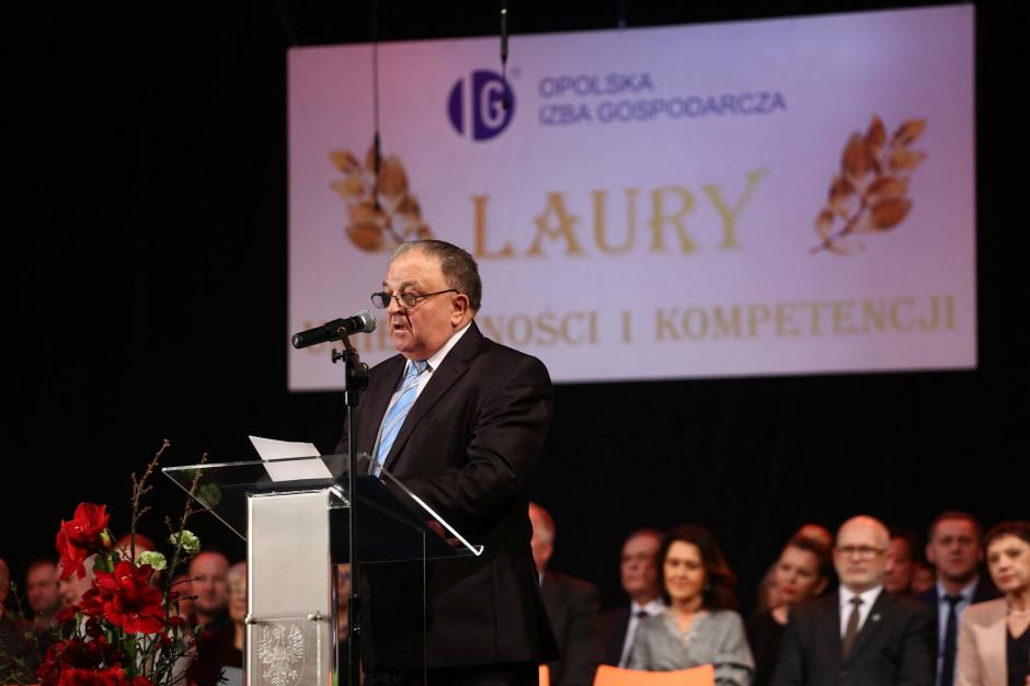 W Opolu wręczono Laury Umiejętności i Kompetencji za 2018 r