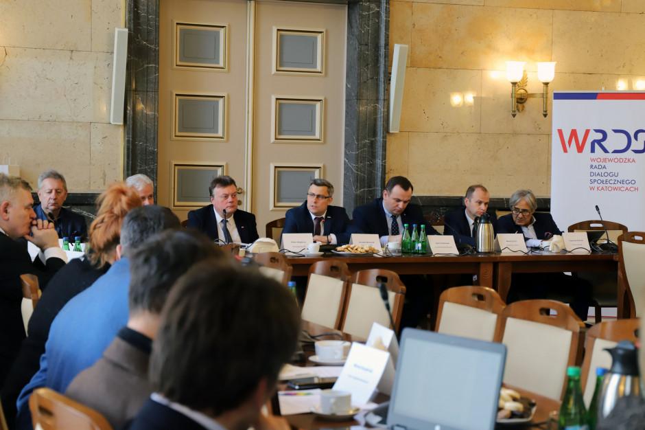 Wojewódzka Rada Dialogu Społecznego w Katowicach z nowym przewodniczącym