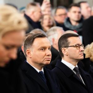 Prezydent Andrzej Duda i premier Mateusz Morawiecki (fot. KPRM)