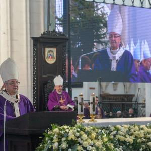 Homilię wygłosił metropolita gdański abp Sławoj Leszek Głódź (fot. Forum)