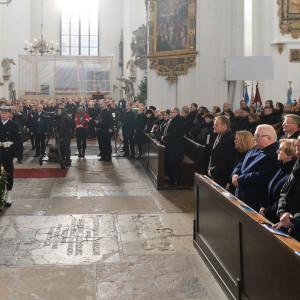 W Bazylice Mariackiej prezydenta Gdańska żegnało 4,5 tys. osób (fot. Forum)