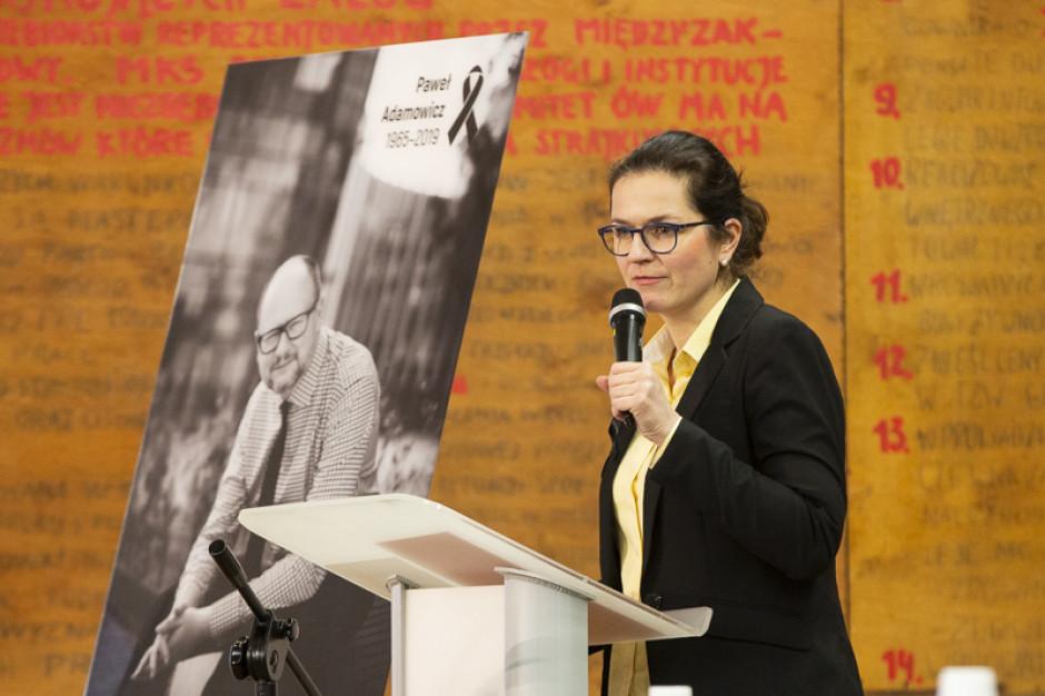 Trzaskowski spotkał się z p.o. prezydenta Gdańska Aleksandrą Dulkiewicz