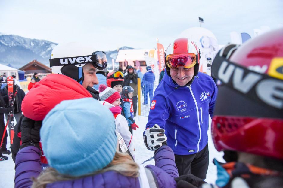 12H Slalom Maraton z udziałem prezydenta Andrzeja Dudy