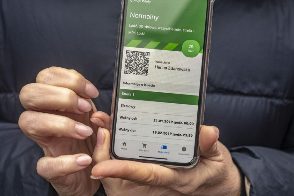 Łódź wprowadza kolejne udogodnienia dla pasażerów komunikacji miejskiej