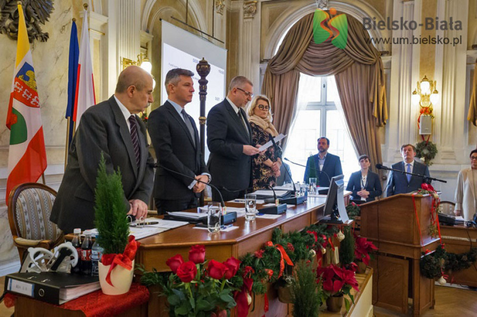 Bielsko-Biała: Radni zaapelowali o wystrzeganie się agresji w debacie publicznej