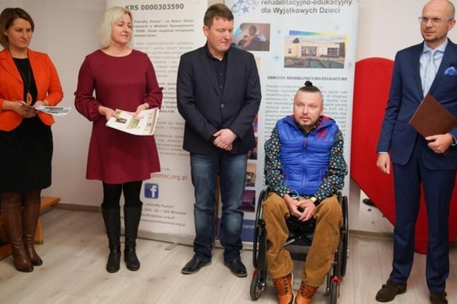 We Wrocławiu powstaną pierwsze pokoje wytchnień dla niepełnosprawnych