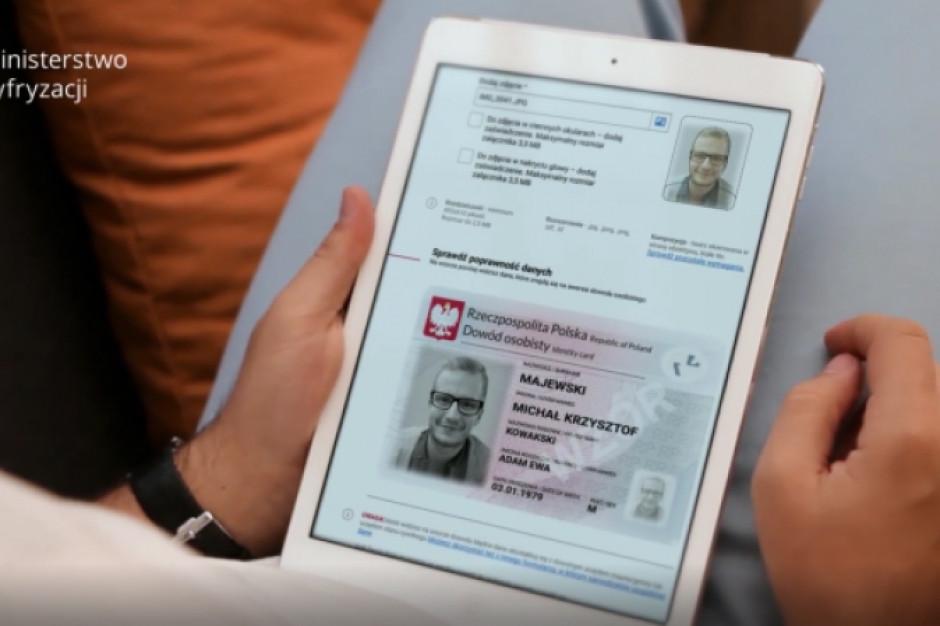 Ministerstwo Cyfryzacji zachęca do składania online wniosków o dowód osobisty