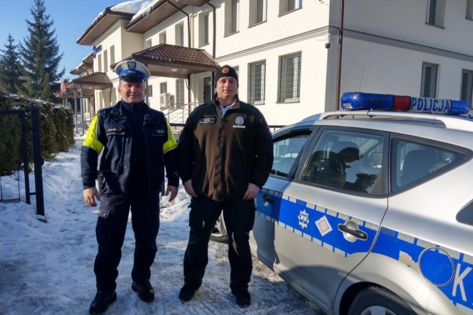 Podkarpackie: Międzynarodowe patrole na drogach podczas ferii