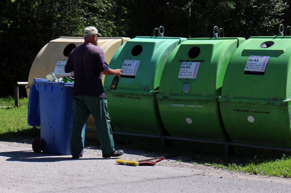 Unia Europejska. Średnio w Unii 487 kg odpadów komunalnych na osobę, w Polsce 315 kg