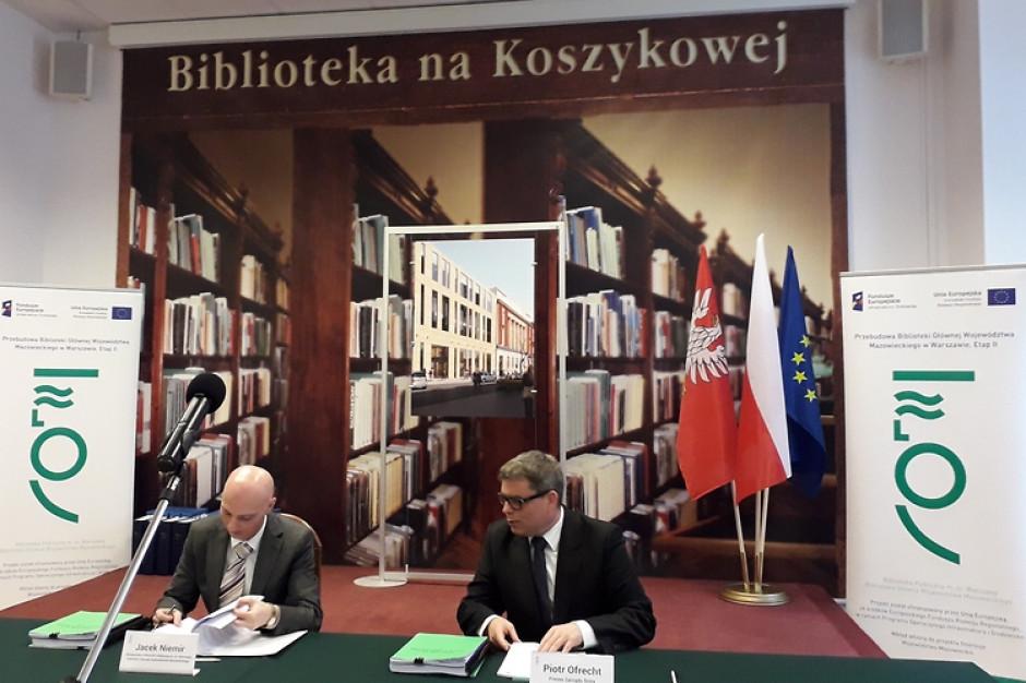 Warszawa: Ponad 23 mln zł na przebudowę biblioteki na Koszykowej