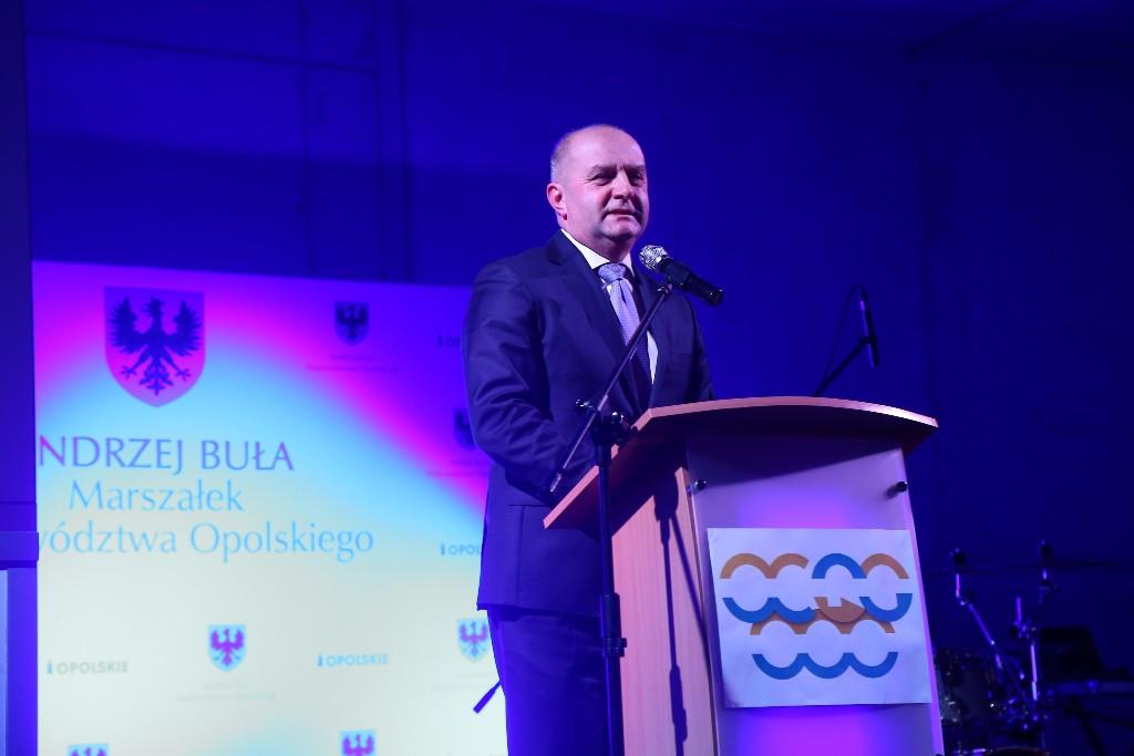 Marszałek Andrzej Buła dziękował przedsiębiorcom za rekordowy rok (fot. UMWO)