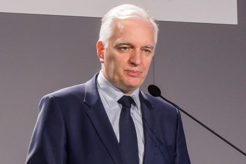 Jarosław Gowin o marszu narodowców: Prezydent Oświęcimia mógł zapobiec temu wydarzeniu