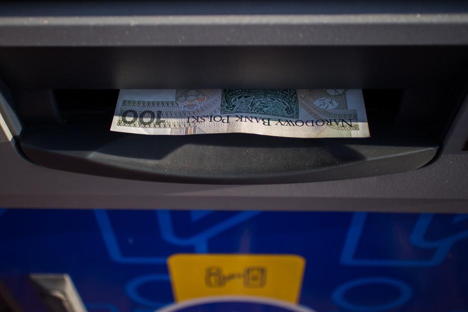 W Krakowie wybuchł bankomat