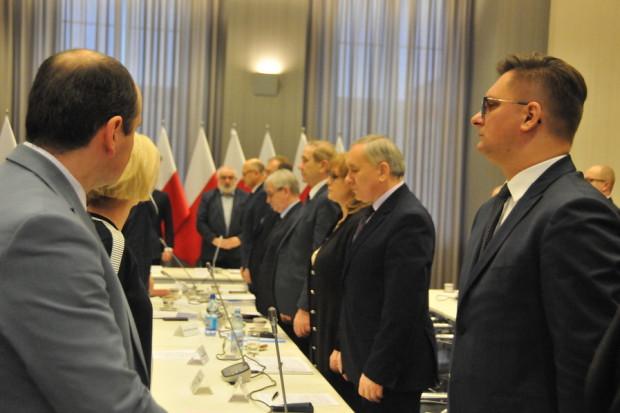 Podczas posiedzenia komisji dyskutowano m.in. na temat bezpieczeństwa samorządowców (fot. ZMP)