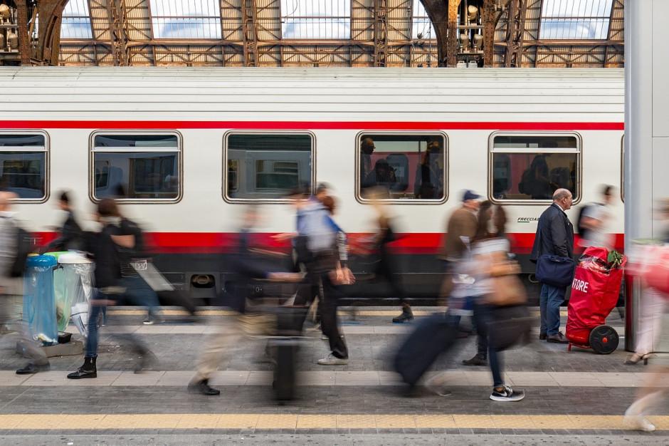 UTK: Rekordowa liczba pasażerów kolei