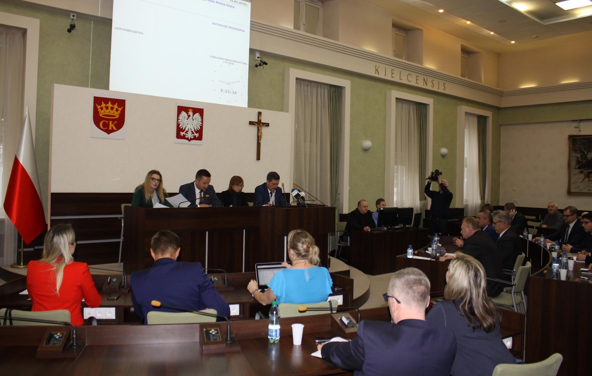 Dochody Kielc w budżecie na 2019 r. wyniosą blisko 1,348 mld zł, z czego 1,187 mld zł to dochody bieżące. Dochody majątkowe wyniosą około 160,5 mln zł (fot. um.kielce.pl)