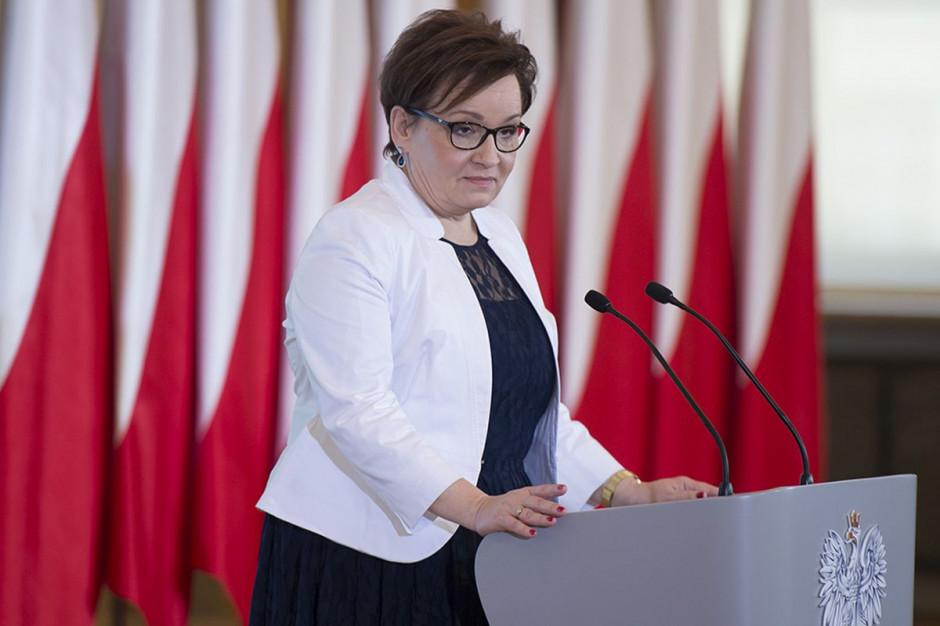 Minister edukacj Anna Zalewska: reforma edukacji jest zamknięta