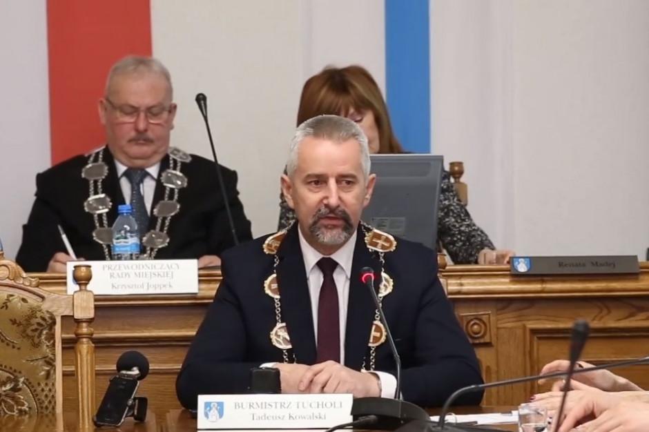 Burmistrz Tucholi: Trwa proces zohydzania samorządowców w przestrzeni publicznej