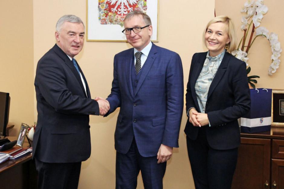 Przedstawiciele Komisji Europejskiej otwarci na współpracę z Świętokrzyskiem