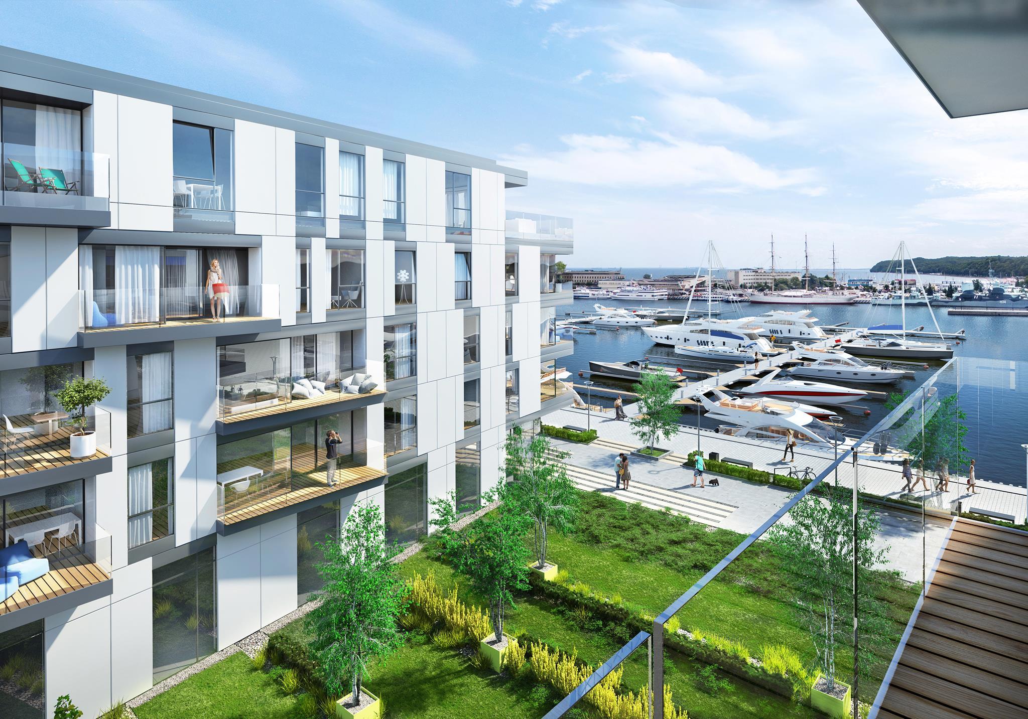 Yacht Park pomieści 120 jachtów (fot. gdynia.pl)