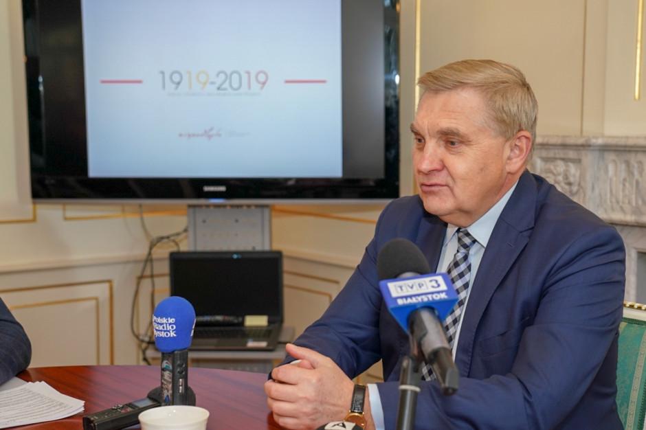 Białystok obchodzi setną rocznicę odzyskania niepodległości