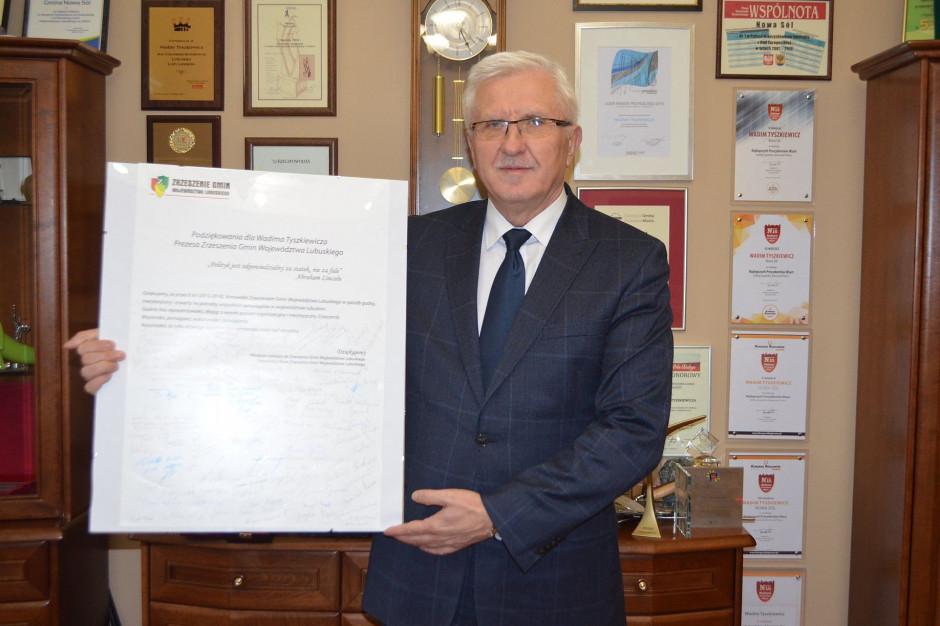 Zrzeszenie Gmin Województwa Lubuskiego ma nowego prezesa