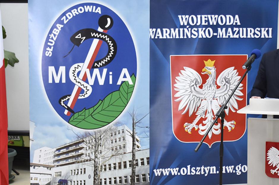 Nowoczesny sprzęt diagnostyczny dla szpitala MSWiA w Olsztynie
