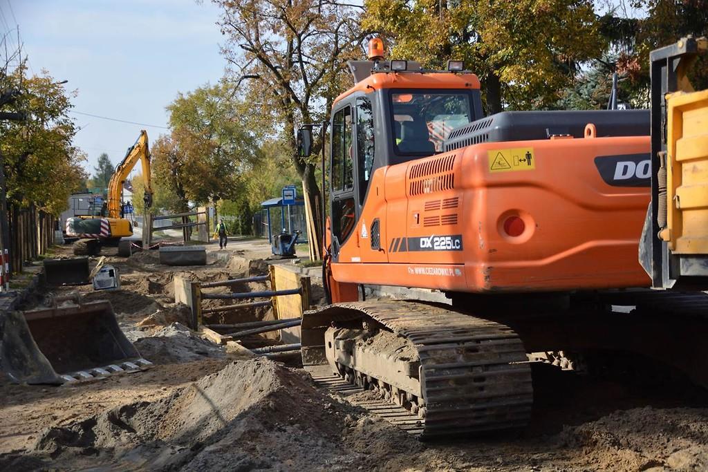 Miasto stawia w bieżącej kadencji na tzw. drobne prace (fot. skierniewice.eu)