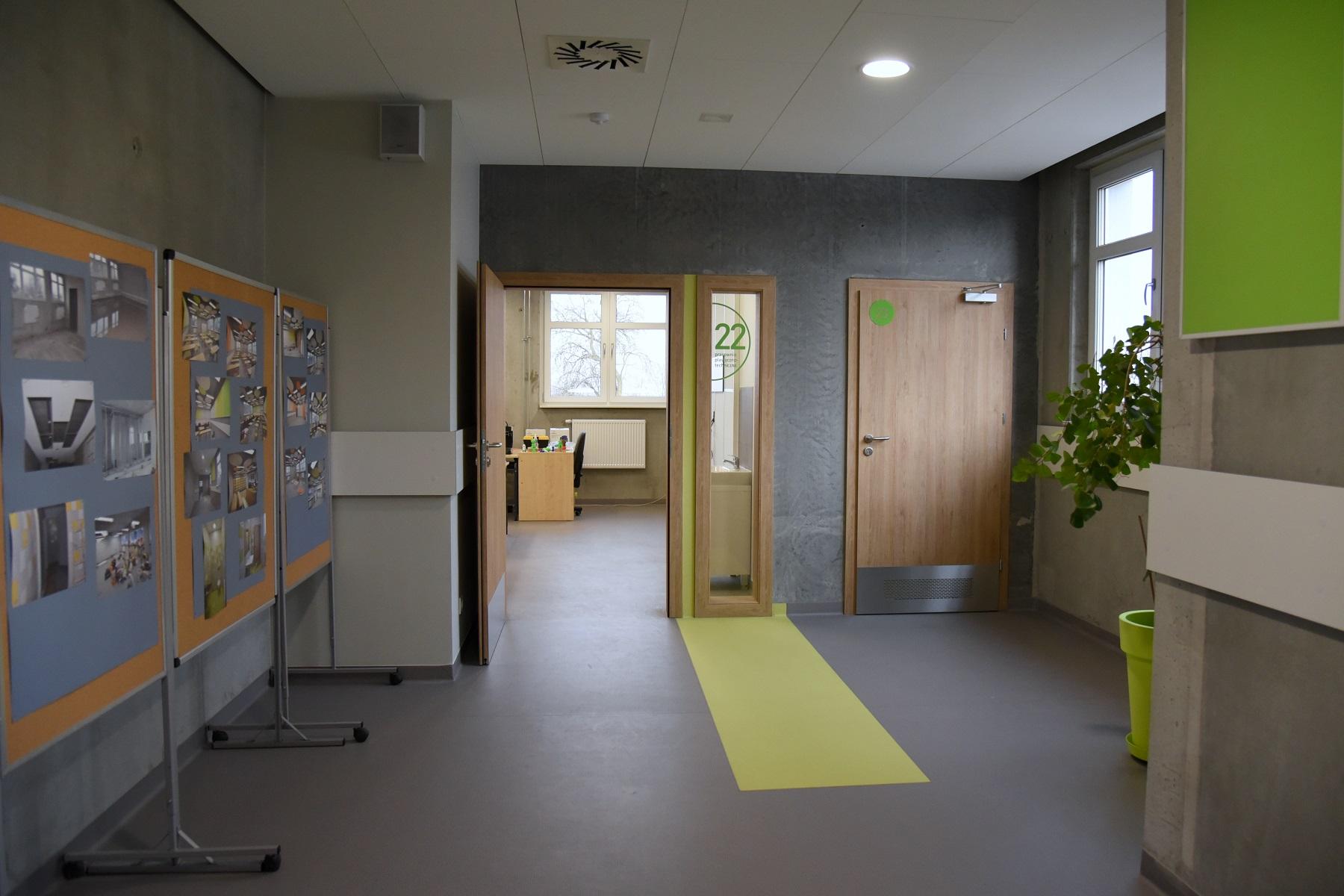 Dobudowane skrzydło szkoły ma powierzchnię 450 m kw. (fot.poznan.pl)
